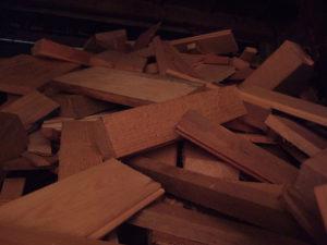 A fafűtéshez jó minőségű tűzifa kell