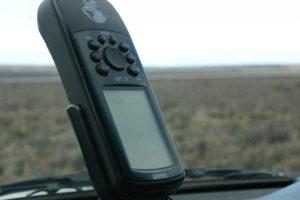 GPS tartó