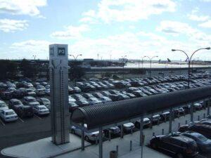 reptéri parkoló Vecsés